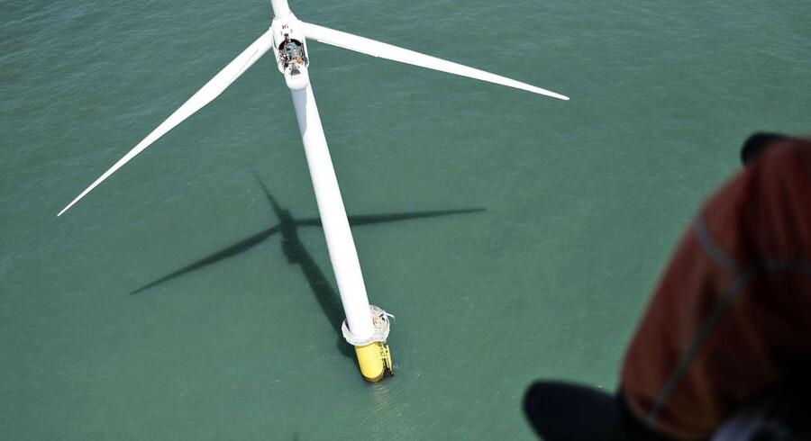 Analytikerne er langt fra enige om potentialet i den danske energiaktie Dong. Arkivfoto.