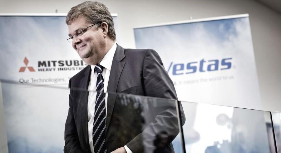 Anders Runevad har god grund til at smile efter Vestas regnskab for tredje kvartal. Topchefen opjusterer forventningerne og starter et aktietilbagekøbsprogram, og Runevad er godt tilfreds.