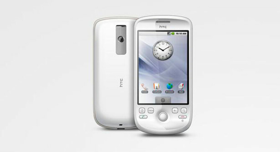 Google-telefonen HTC Magic.