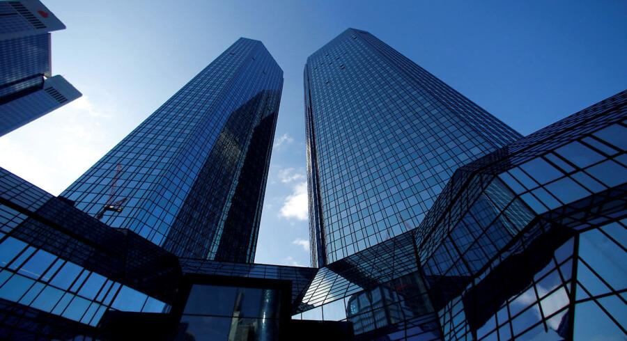 ARKIV: Deutsche Banks hovedkontor