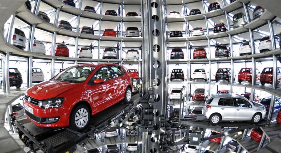 Volkswagens temapark Autostadt i Wolfsburg