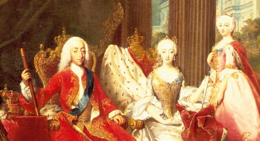 Christian VI, der blev Danmarks konge i 1730, var en from mand. Det kneb noget mere for undersåtterne. Foto: Kongernes Samling Rosenborg