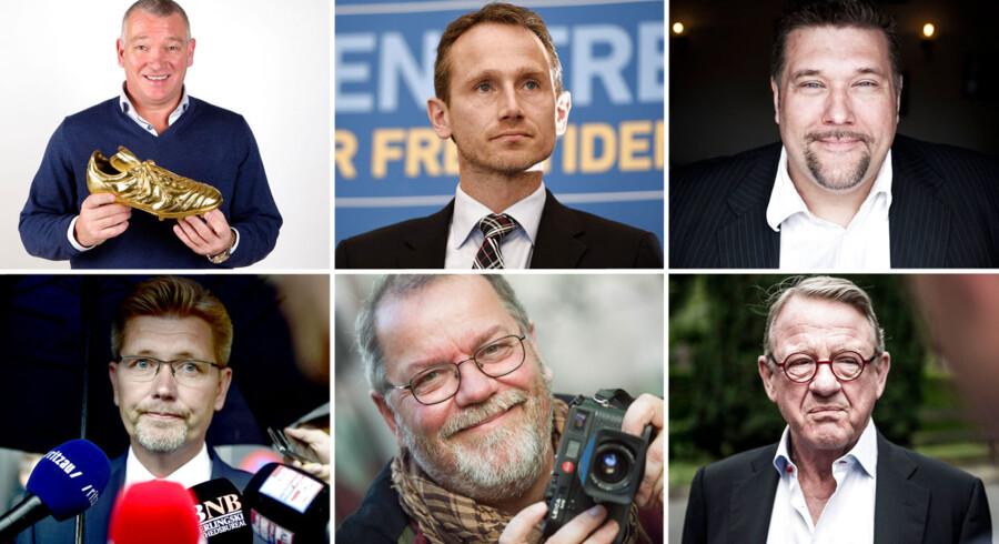 Disse seks herrer gør, hvad de kan for at promovere efternavnet Jensen. Men det er ikke nok.