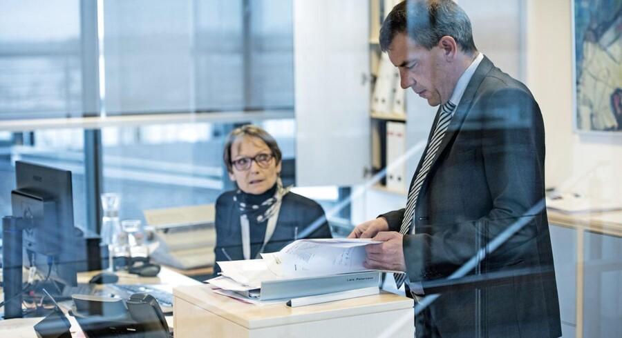 Lars Petersson, adm. direktør i Sparekassen Sjælland