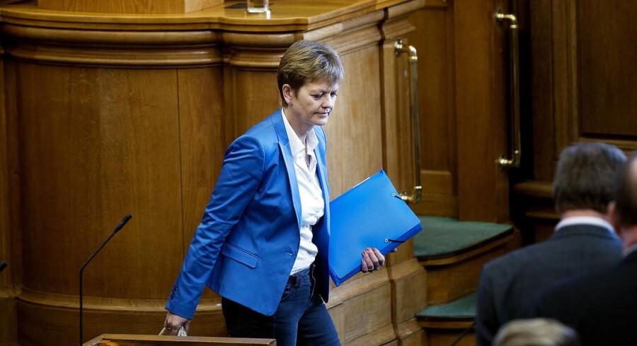 Eva Kjer Hansen.
