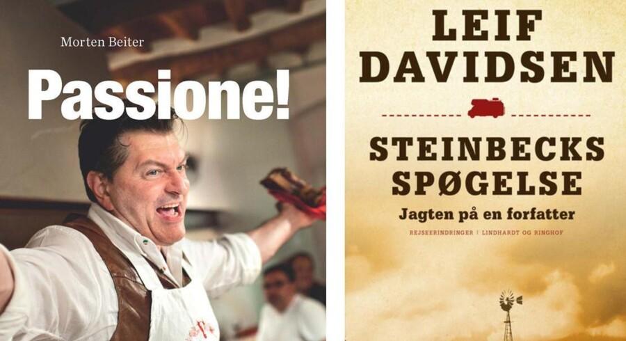 Mad i Italien med Morten Beiter eller i Steinbecks hjulspor med Leif Davidsen i USA. Der er masser af spændende rejselitteratur på årets BogForum.
