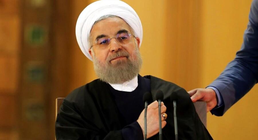 Iran vil øge sin produktion med 500.000 tønder olie om dagen, hvis sanktionerne blive løftet, og med yderligere 500.000 tønder kort efter.