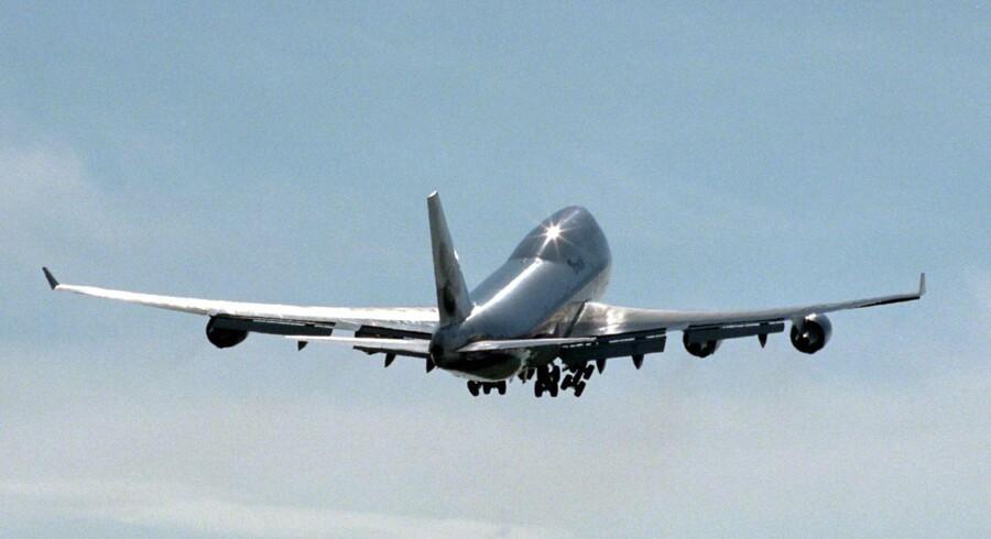 Boing 747.
