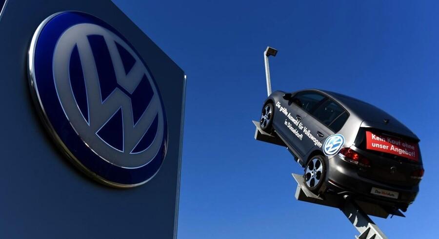 Det går fortsat op ad bakke for Volkswagen.