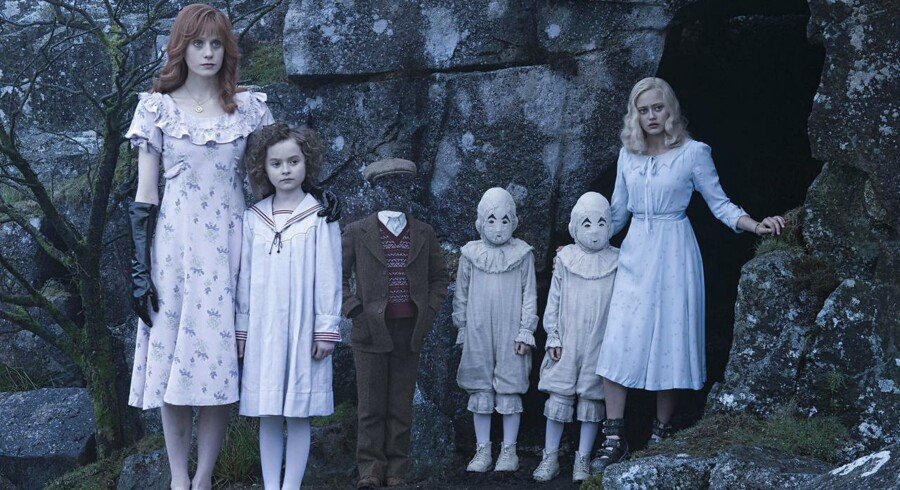 Fra Tim Burtons nye film »Miss Peregrine's Home for Peculiar Children«.