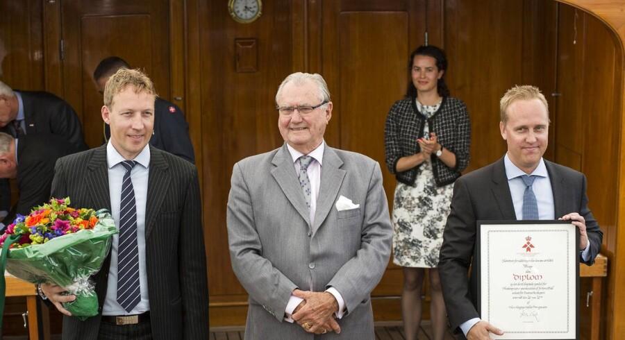 Tais Clausen og Nikolaj Deichmann fik tidligere på året Kong Frederik den Niendes Hæderspris overrakt af prins Henrik. Nu er værdien af deres firma, 3 Shape, vokset så meget, at de springer knap 20 paldser på på rigelisten.
