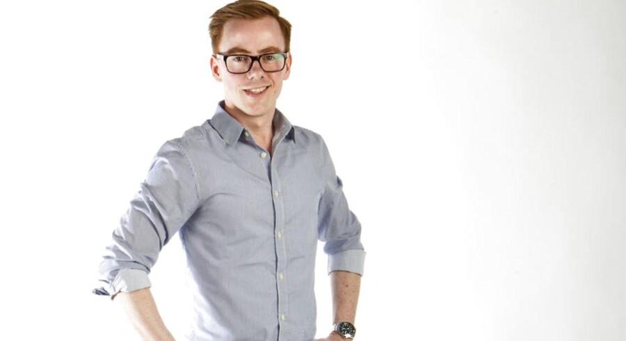 Jonas Stenbæk Christoffersen er redaktør på Berlingskes børneavis, Kids' News, og far til tre. Hver uge skriver han om sit arbejde og liv med børn. Bylinefoto Berlingske Jonas Stenbæk Christoffersen