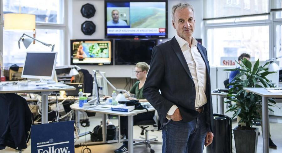 Erhvervskommentator, Jens Christian Hansen.
