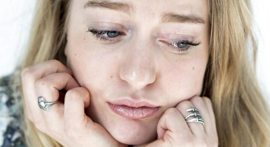 Op mod ti procent af befolkningerne i de vestlige lande tager antidrepressiva mod blandt andet depressioner. Modelfoto: Jens Nørgaard Larsen