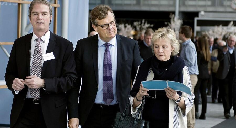 A.P. Møller-Mærsk generalforsamling tirsdag d.12. april 2016 i Bella Center i København. Michael Pram Rasmussen (im).