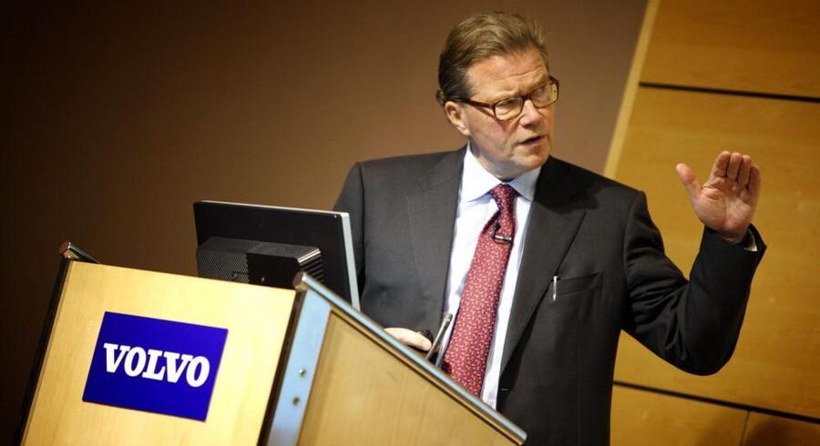 Volvos topchef, Leif Johansson, nævnes af flere medier som ny bestyrelsesformand for Ericsson-koncernen. Arkivfoto: Fredrik Persson, Scanpix