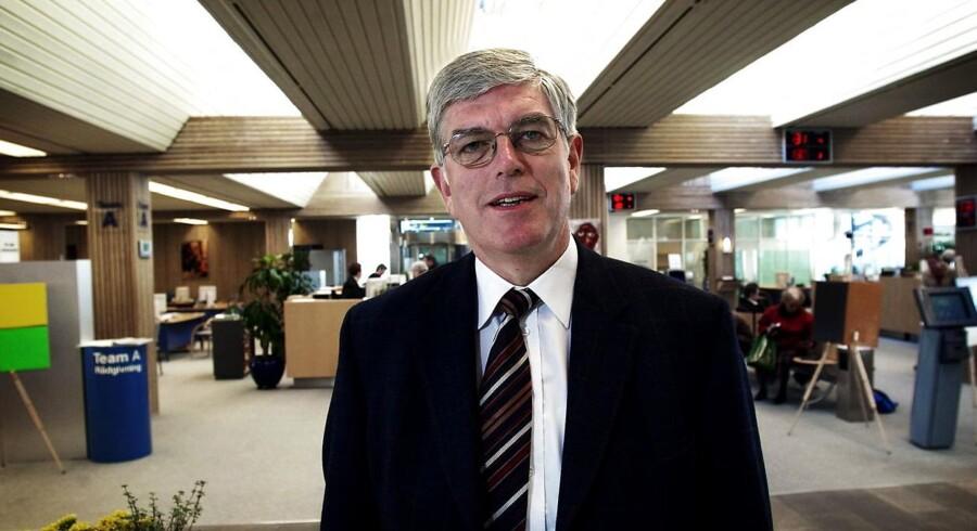 Roskilde Bank's tidligere direktør Niels Valentin Hansen