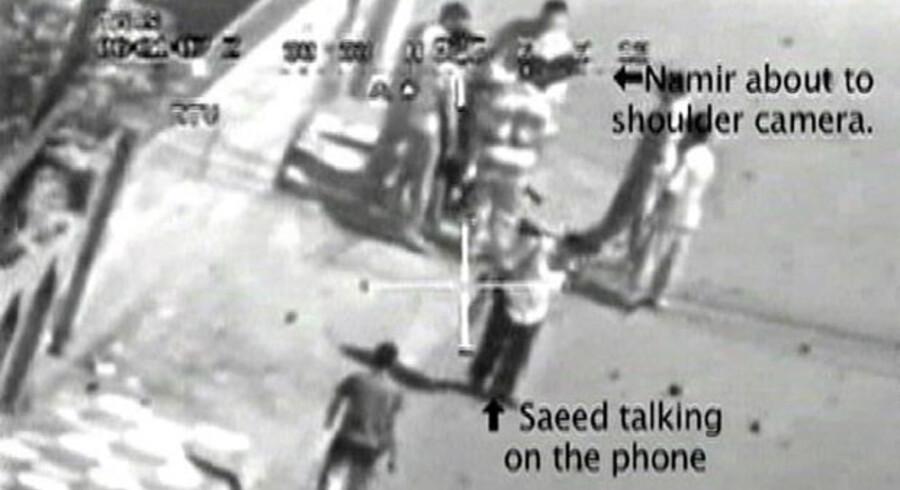 Den første af Bradley Mannings lækager var udleveringen af dette videobånd fra en amerikansk helikopter, der skyder mod civile.