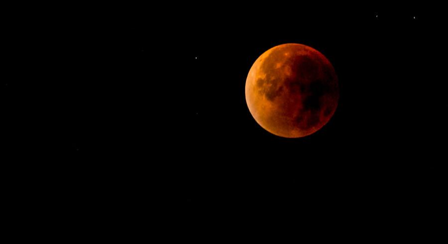 Sådan så blodmånen ud over Kolding den 28. september 2015
