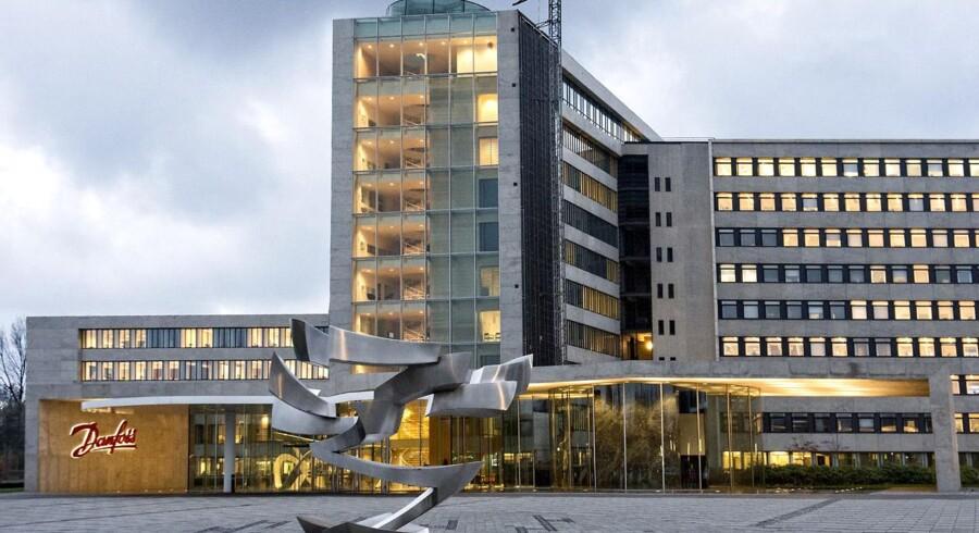 Danfoss har hovedsæde i Nordborg på Als. Koncernen beskæftiger i omegnen af 24000 mennesker.