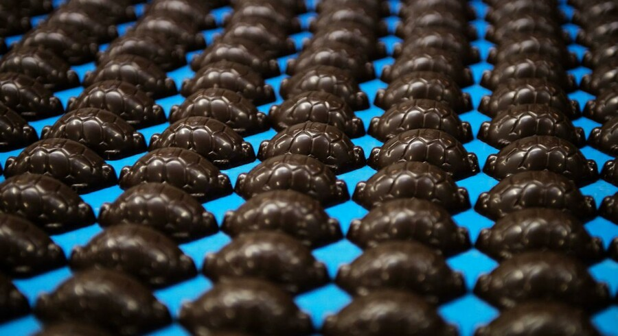 Arkivfoto: Toms chokoladefabrik.