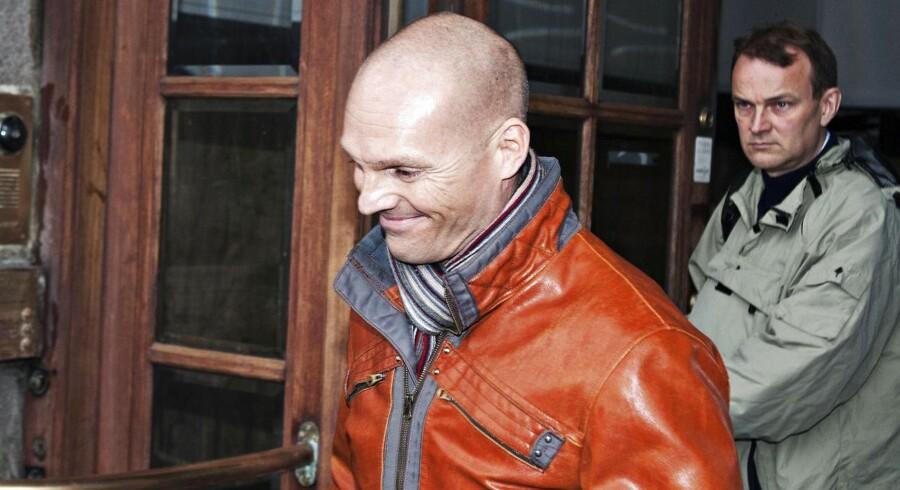 Stein Bagger forlader Københavns Byret fredag d. 15. november 2013.