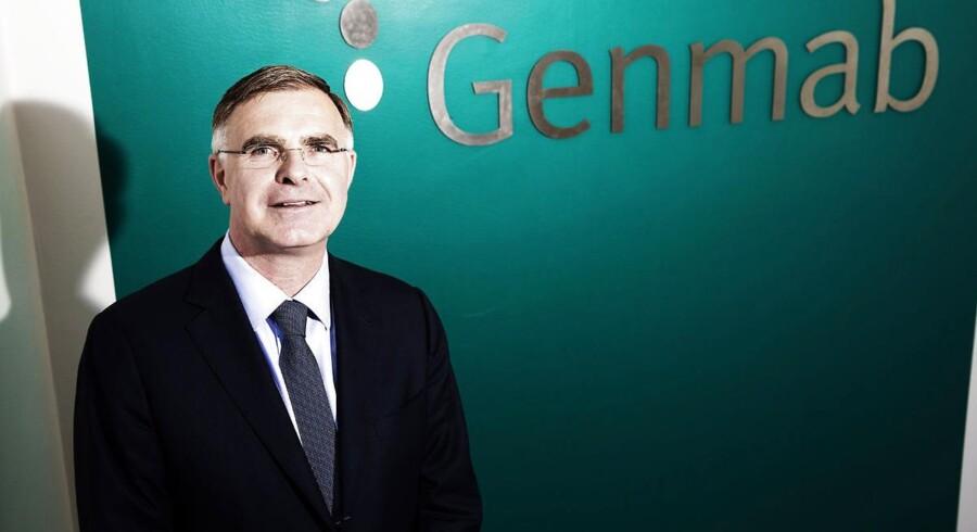 Genmabs topchef, Jan van de Winkel, får en årsløn på knap 20 millioner kr. og kan derudover glæde sig over, at han har for flere hundrede millioner kr. aktier i det danske biotekselskab.