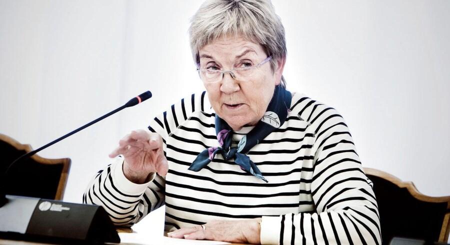 Kulturminister Marianne Jelveds (R) brede filmaftale har ikke den foreslåede internetskat med. Arkivfoto: Sophia Juliane Lydolph, Scanpix