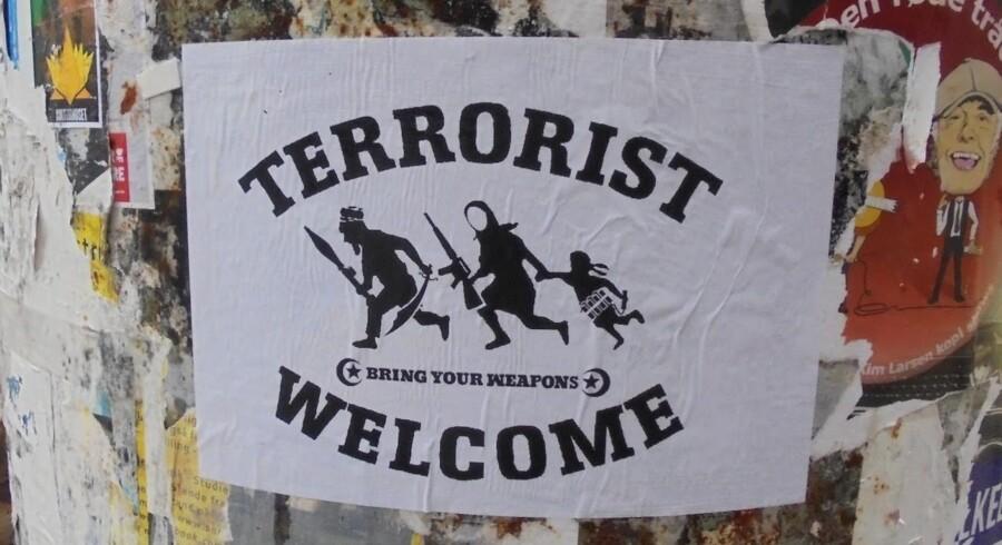 Dan Parks plakat - Terrorister Welcome.