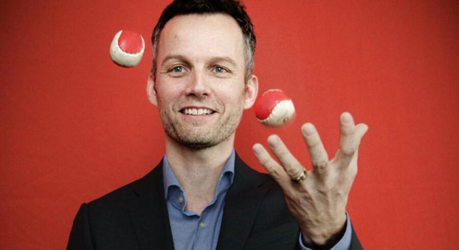 Michael Seifert, medstifter af og administrerende direktør for Sitecore, er blevet en holden mand efter fredagens salg til den svenske kapitalfond EQT. Arkivfoto: Malte Kristiansen