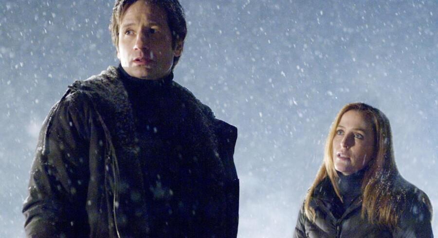 Arkivfoto fra tv-serien X-files.