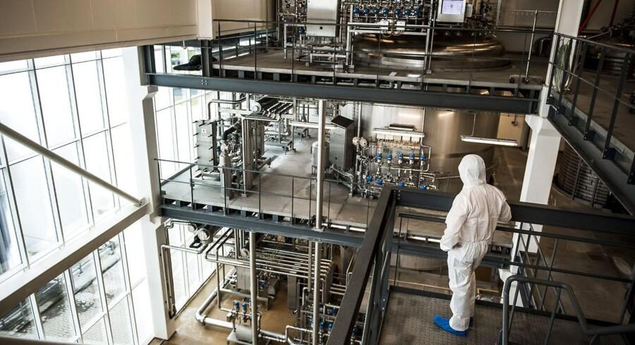 Arkivfoto: Ingrediensvirksomheden Chr. Hansen. Her er selskabets fabrik i Avedøre.