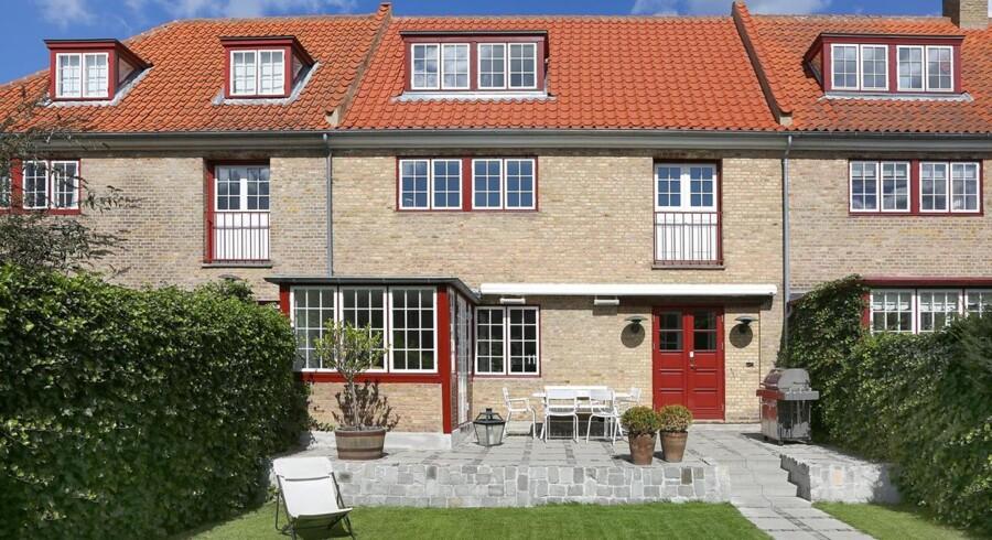 Landets pt dyreste rækkehus er netop kommet til salg i Nordsjælland.