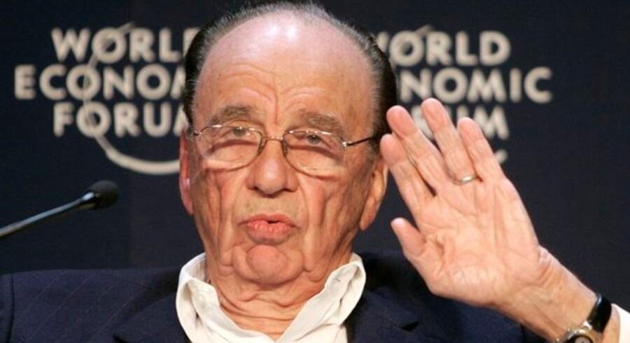 Murdoch vil have brugerne af sine nyhedssites til at betale for indholdet - derfor vil han gøre hjemmesiderne usynlige for Google.