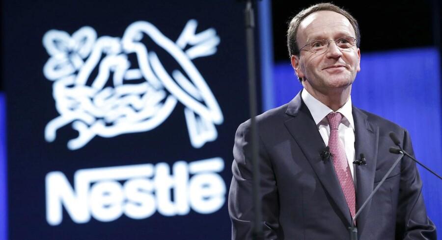 Arkivfoto. Den schweiziske fødevaregigant Nestlé, der blandt andet er kendt for at producere mærker som Nescafé og Kit Kat, har i sit første kvartal landet en større organisk salgsvækst end ventet i markedet.