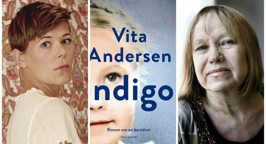 »Man har med »Indigo« fornemmelse af, at det er et uregerligt stof, der producerer forfatteren og hendes værk, ikke omvendt.« Foto: Thomas Altheimer og Liselotte Sabroe.