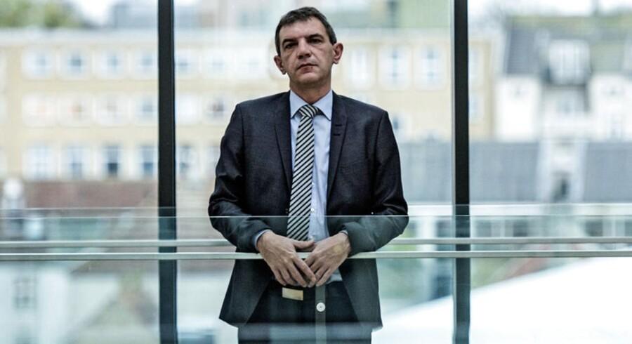 Lars Petersson, adm. direktør i Sparekassen Sjælland, er klar til børsnoteringen.