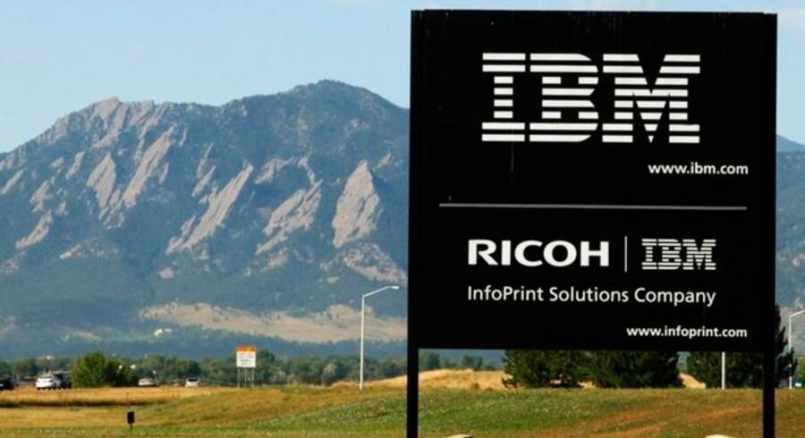 IBM undersøges nu for at have presset priserne i vejret til skade for konkurrenterne. Foto: Rick Wilking, Reuters/Scanpix