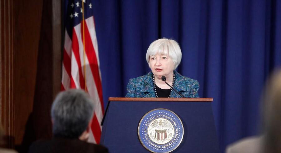 I et lammet politisk system, er det centralbankchef Janet Yellen, der er nøglepersonen i et USA på vej ind i højkonjunkturen.