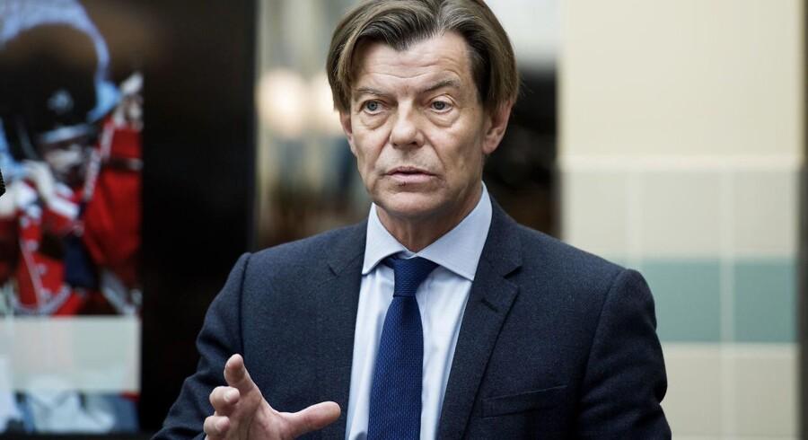 Tivoli's administrerende direktør Lars Liebst fortæller om den nye sæson. (Foto: Liselotte Sabroe/Scanpix 2016)
