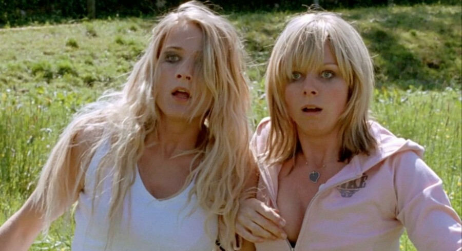 Mona og Netty er to strippere, der flygter til Sverige for at begynde på en frisk.