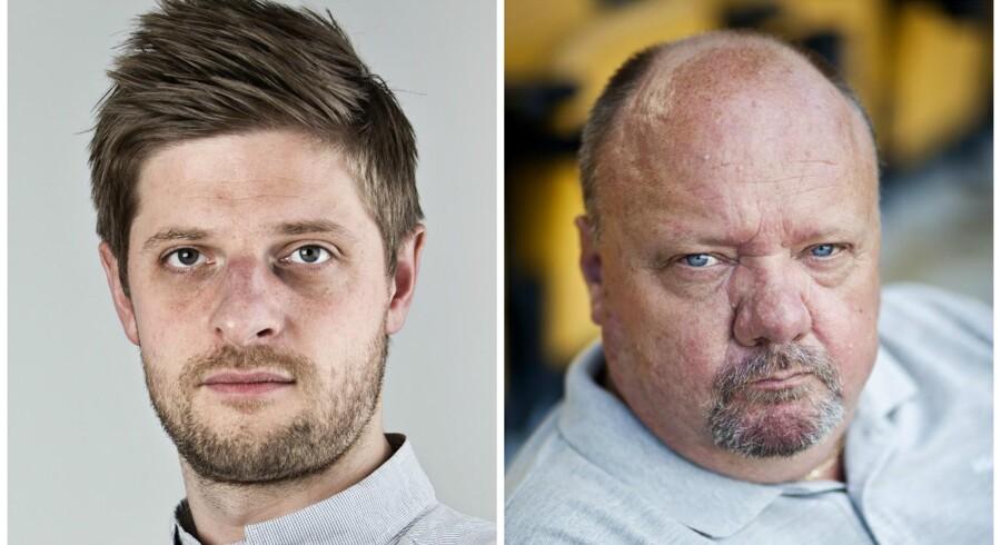 Morten Crone Sejersbøl (tv) og Allan K. Pedersen.