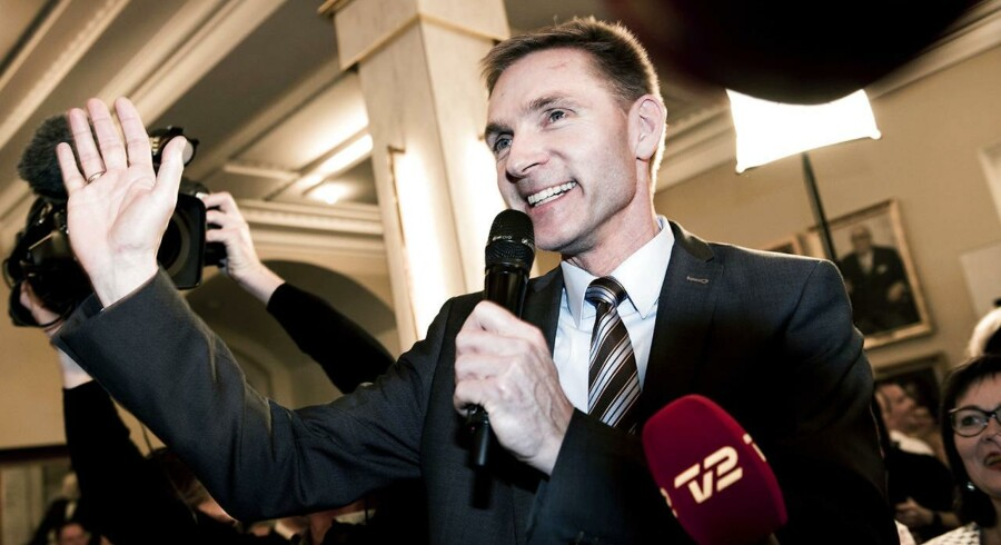 Dansk Folkeparti er gået signifikant tilbage i meningsmålingerne i forhold til valgresultatet (Arkivfoto: Linda Kastrup/Scanpix 2015).