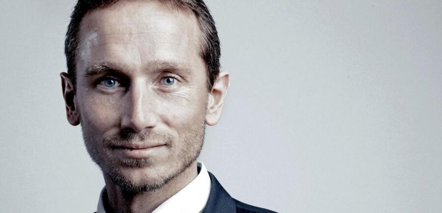 Kristian Jensen er på lynvisit i Ukraine.
