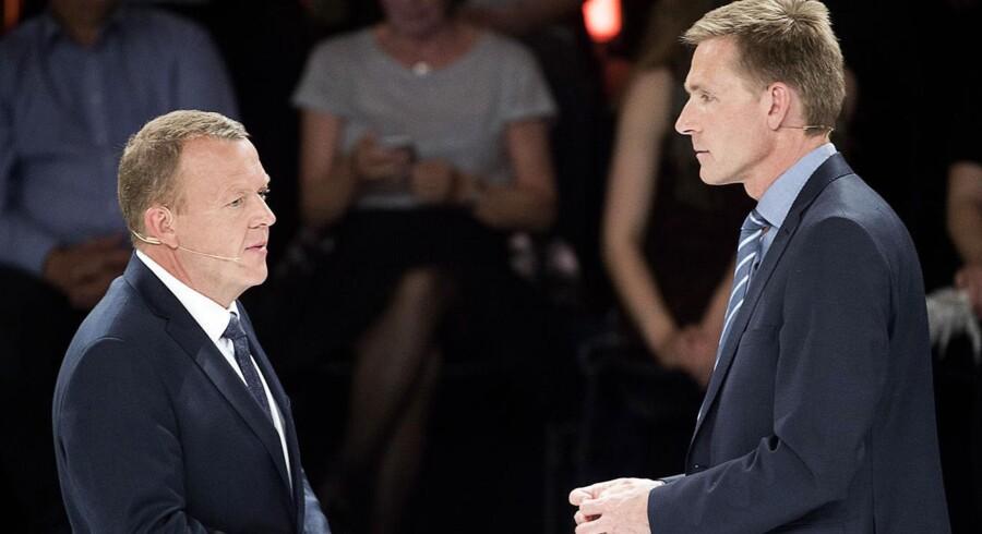 Dansk Folkeparti og Venstre er blevet de største borgerlige partier efter folketingsvalget, men de skal opnå enighed på flere stridspunkter, hvis de skal danne regering sammen. Arkivfoto.