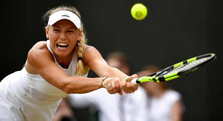 Caroline Wozniacki føler, at hun har kæmpet sig tilbage til verdenstoppen i tennis i denne sæson.