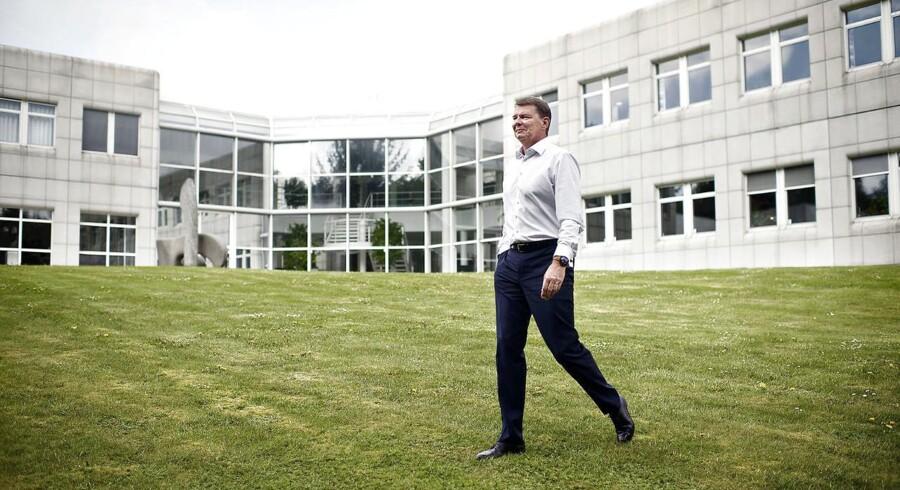 Chr. Hansens topchef Cees de Jong, som har stået i spidsen for firmaet i nu snart halvandet år.