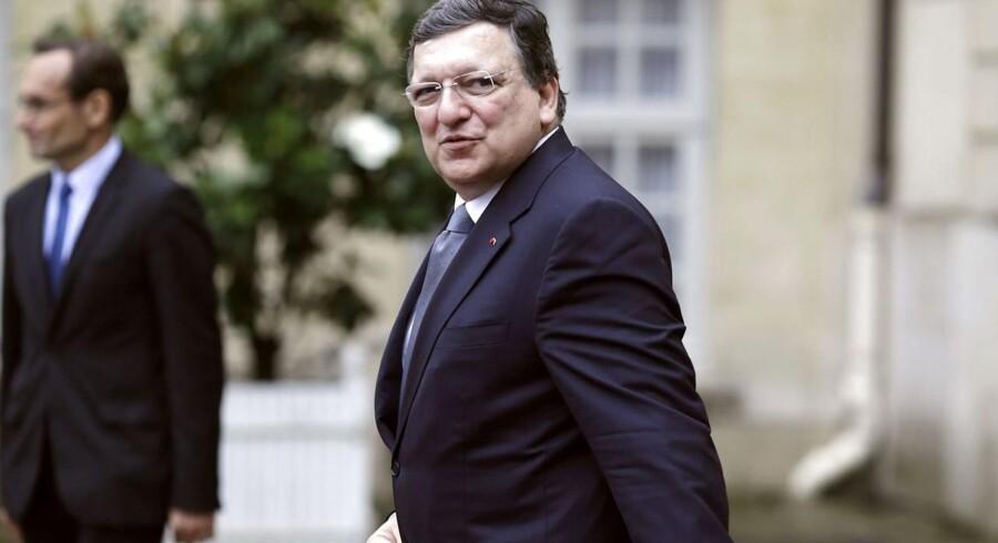 Arkivfoto: Den tidligere formand for EU-Kommissionen José Manuel Barroso.