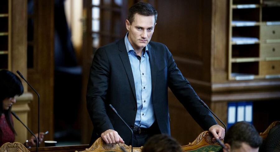 Rasmus Jarlov, miljøordfører for de Konservative.