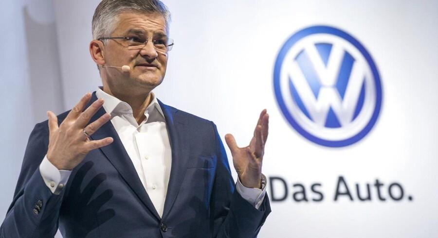 Lidt mere end to år som øverste chef i VW USA blev det til for Michael Horn. Det seneste halve år kunne han givetvis godt have været foruden.